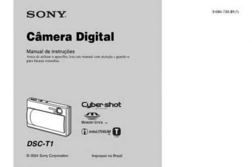SONY DSC-T1 OPERATING GUIDE by download #166767