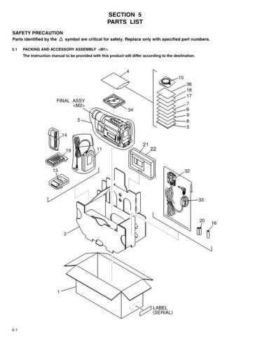 JVC GR-SXM245 part CDC-1441 by download #155798