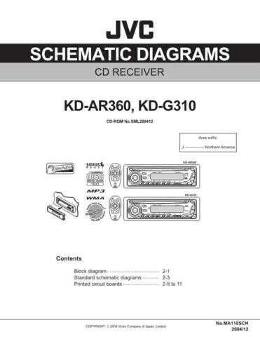 JVC KD-G310U sch Service Schematics by download #156077