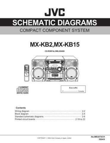 JVC MX-KB2U sch Service Manual by download #156395