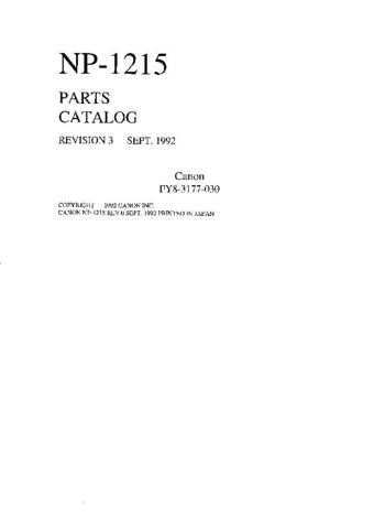 CANON NP1215-1520PC by download #153656