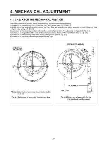 Daewoo G1MECHA 6 Manual by download Mauritron #184422