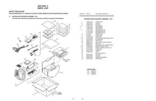 JVC GR-DVP7 part CDC-1441 by download #155742