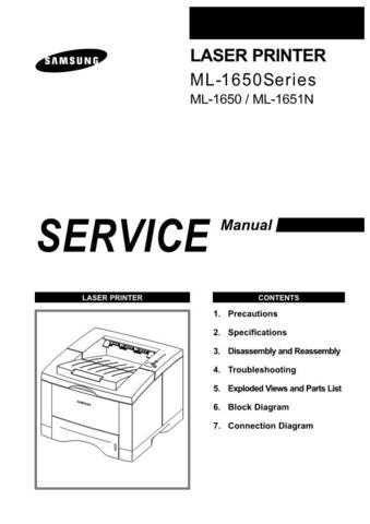 Samsung ML15ASASS EDCPL044E01 Manual by download #164547