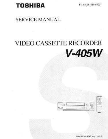 MODEL V-705W Service Information by download #124976