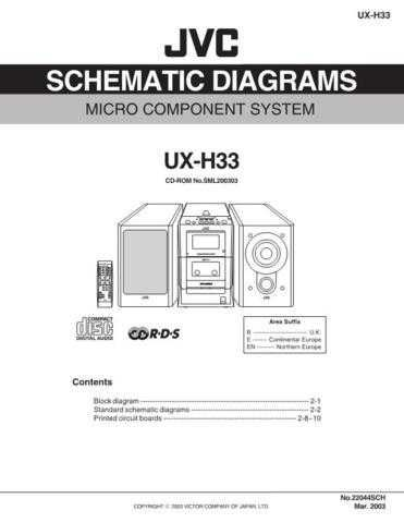 JVC UX-H100 sch Service Manual by download #156620