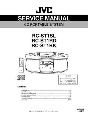 JVC RC-ST1SLEU Service Manual by download #156456