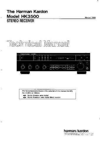 HARMAN KARDON CF80 TS Service Manual by download #142177