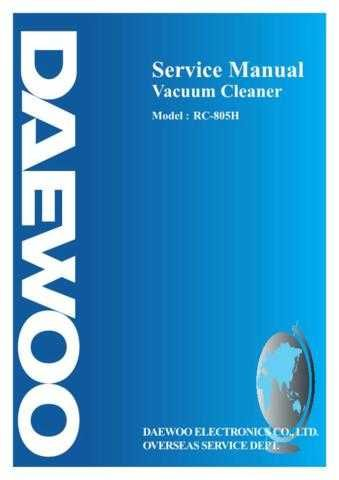 Daewoo RC-805H (E) Service Manual by download #155094