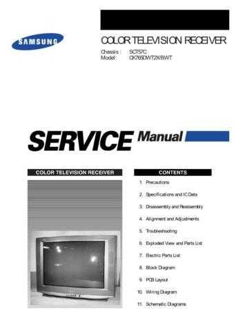 Samsung CK765DWT2X BWTSMSC101 Manual by download #164029