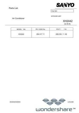 Sanyo XH2442(PL832388) Manual.pdf_page_1 by download #177621