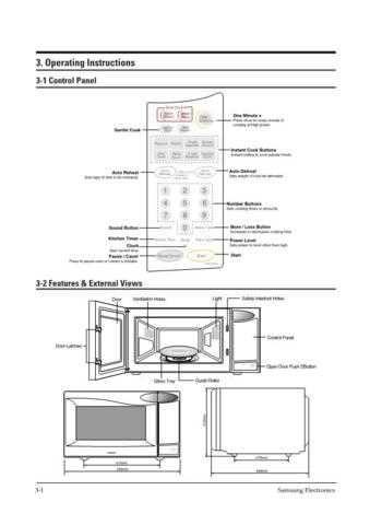 Samsung MW7896W XAA10029105 Manual by download #164855