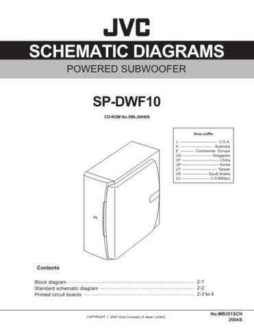 JVC SP-DWF10J sch Service Manual by download #156515