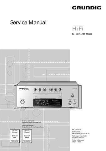 Grundig R-4200 MKII Manual by download Mauritron #185505