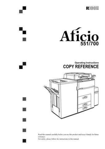Ricoh A293 Operating Guide by download #157366