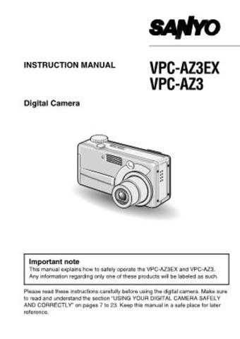 Sanyo VM-LC100P Operating Guide by download #169691