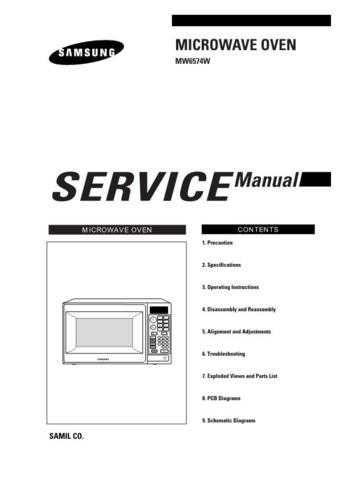 Samsung MW6574W THTTI001101 Manual by download #164802