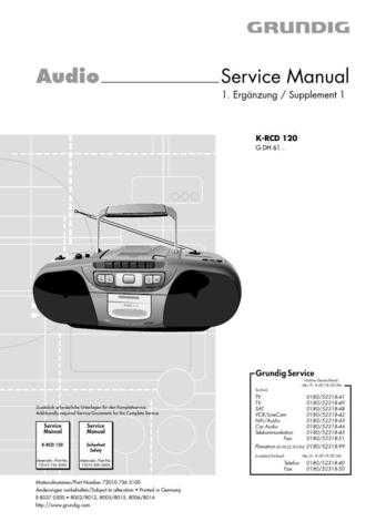 Grundig 756 5100 Manual by download Mauritron #185393
