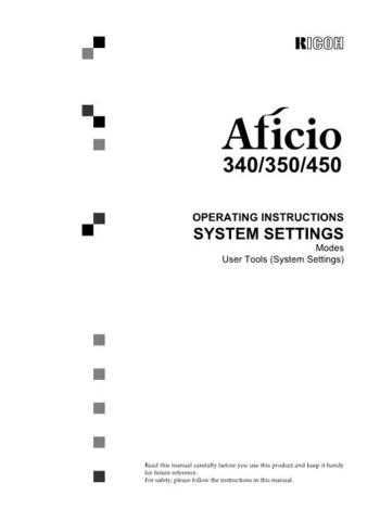 Gestetner A232O Operating Guide by download #155167