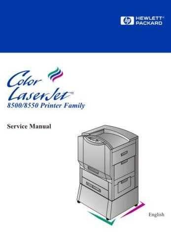 Hewlett Packard CLJ8500-8550 20 20 Service Manual by download #155224