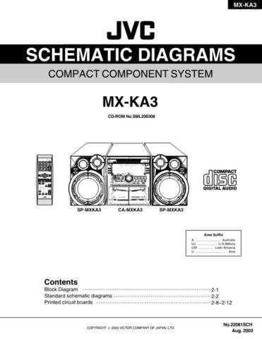 JVC MX-KA3UMSCH Service Manual by download #156379
