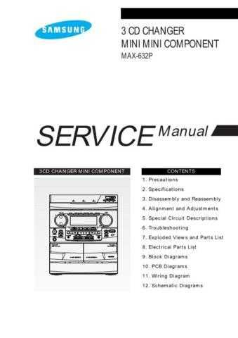 Samsung MAX632PL TAW60008101 Manual by download #164417