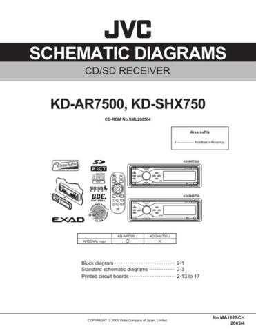 JVC KD-SHX750 sch Service Schematics by download #156199