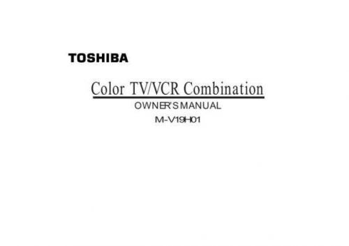 Samsung M V19H01 ITCX80096S105 Manual by download #164315