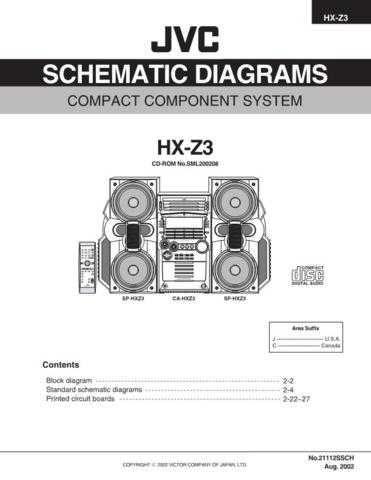 JVC HX-Z3J schem Service Schematics by download #156003