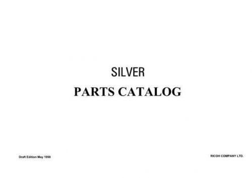 Savin RICOH P SILVER Service Schematics by download #157525