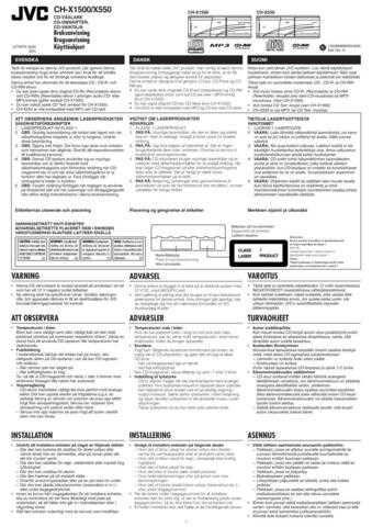 JVC 49776IDA Service Schematics by download #121100