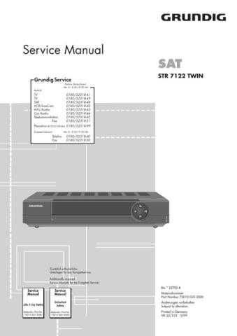 Grundig 025 2000 Manual by download Mauritron #185265