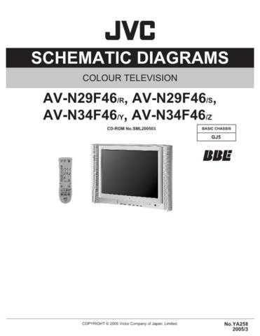JVC AV-N29F46 sch Service Schematics by download #155435