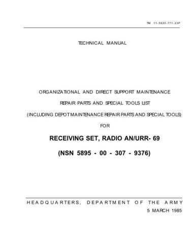 Military 035341 Service Schematics by download #156767