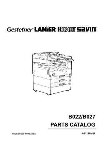Gestetner B022 Service Manual by download #155183