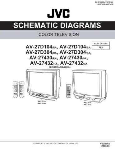 JVC av-27430 y 27432 Schm Service Schematics by download #155332