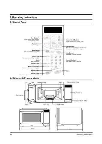 Samsung MW8598W XBMUS355105 Manual by download #164865