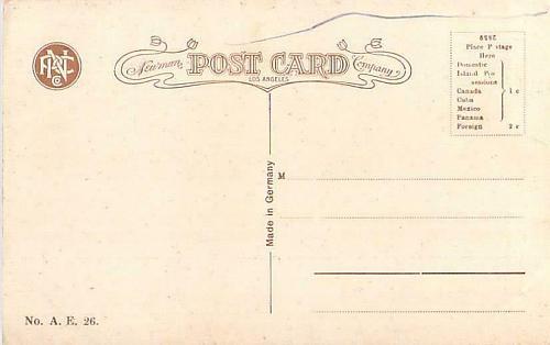 Sacramento River Canyon, Mount Shasta Railroad Vintage Postcard