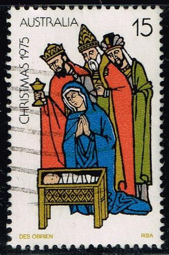 Australia #626 Christmas-Adoration of the Kings; Used (0.25) (4Stars)  AUS0626-03XBC