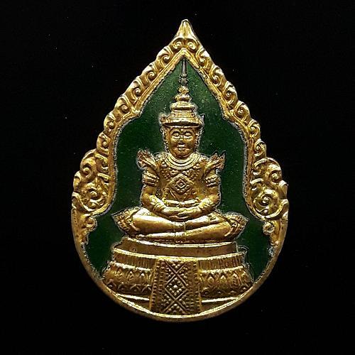 RARE THAI AMULET SET OF EMERALD BUDDHA 3 SEASONS CHARM LUCK MONEY REAL THAILAND