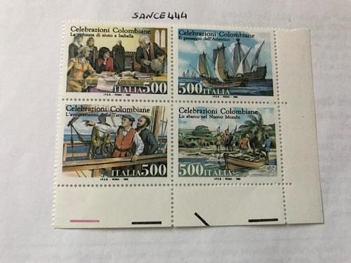 Italy Discovery of America block 1992 mnh #2