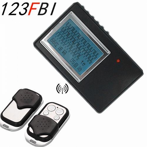 Code grabber rolling code auto door opener remote control detector scanner decoding d