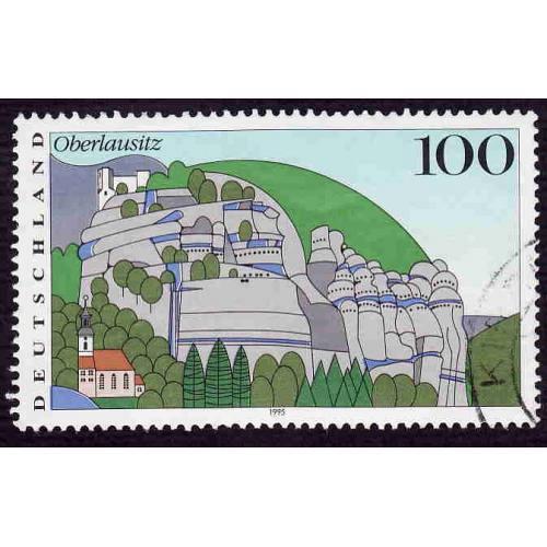 German Used Scott #1801 Catalog Value $.75