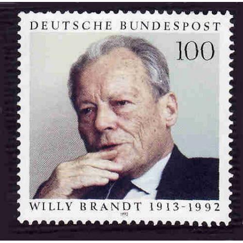 German MNH Scott #1819 Catalog Value $1.75