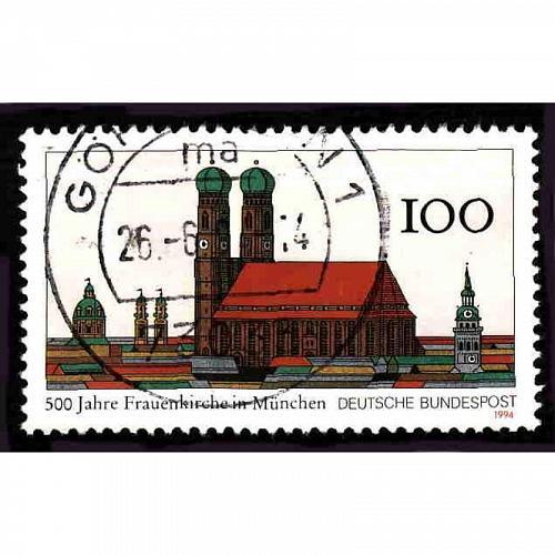 German Used Scott #1828 Catalog Value $.75