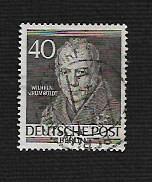German Berlin Used Scott #9N93 Catalog Value $2.25