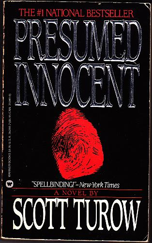 Presumed Innocent by Scott Turow 1988 Paperback Book - Good