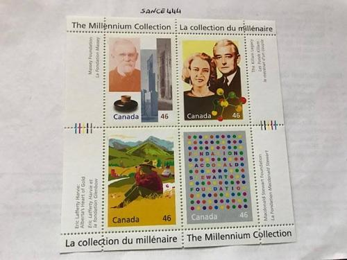 Canada Millenium A Tradition of Generosity s/s mnh 1999