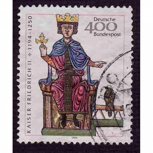 German Used Scott #1835 Catalog Value $3.00