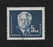 German DDR Used Scott #57A Catalog Value $1.20